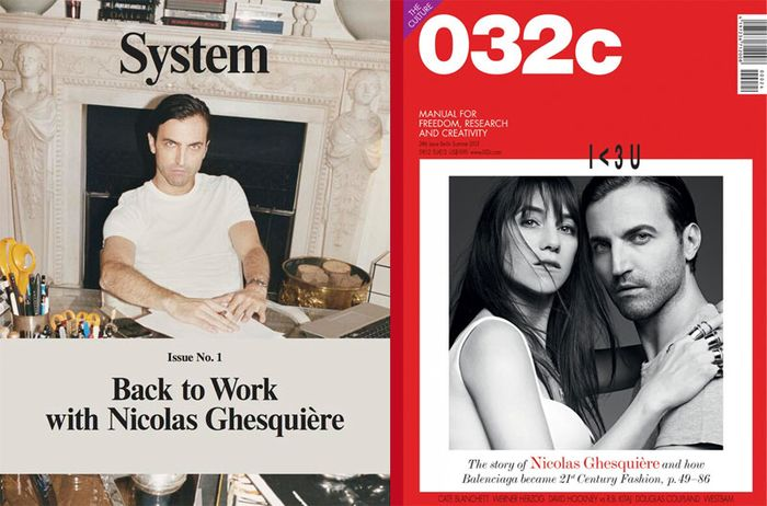 Nicolas Ghesquière interview