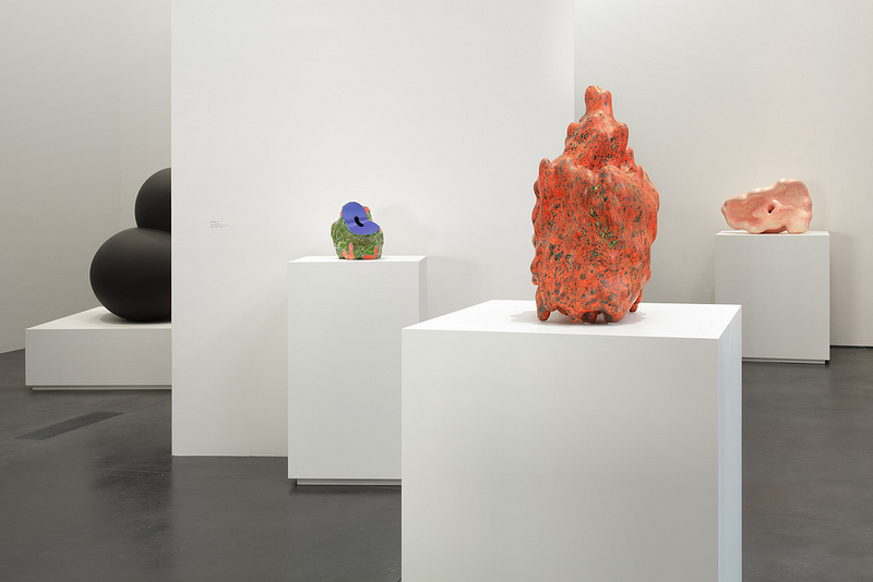 Installation view: Ken Price Sculpture: A Retrospective, LACMA, 2013