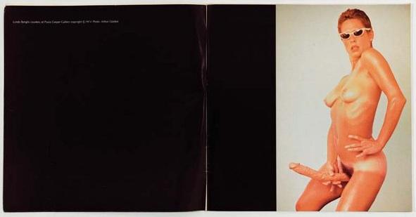 Lynda Benglis Artforum1970