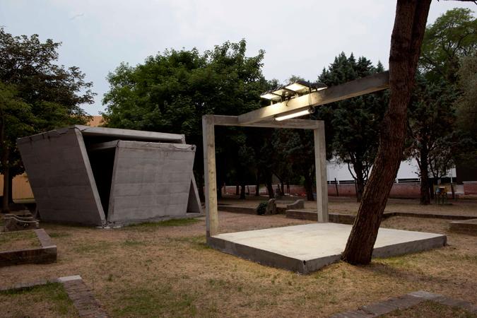 Oscar Tuazon, Exhibition view, La Biennale de Venezia, 2011