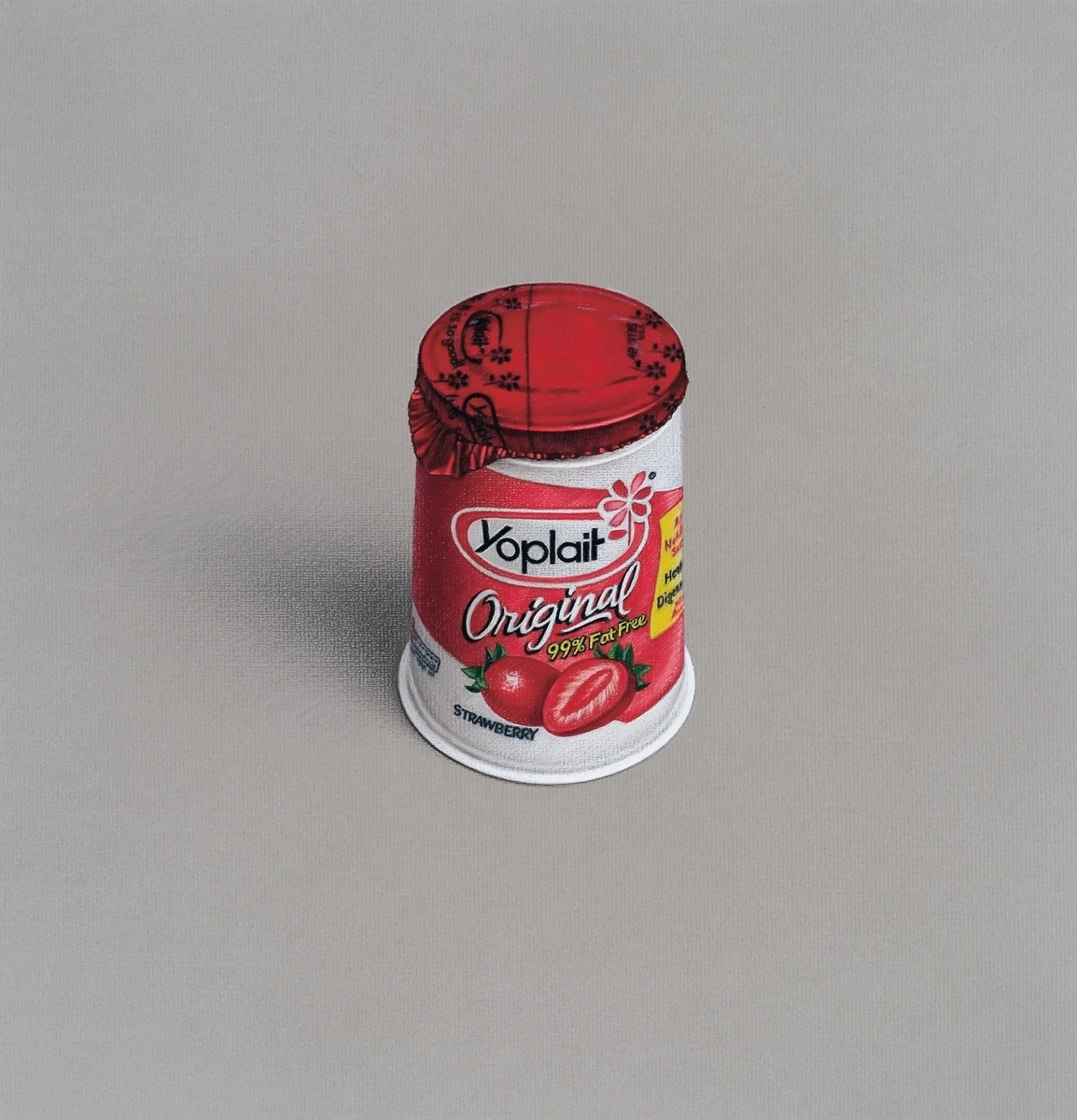Mathew Cerletty Yoplait, 2007 colored pencil and gouache on paper 35,56 x 33,65 cm