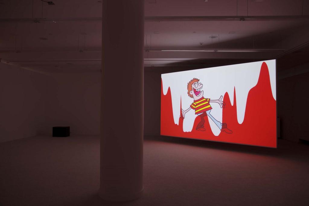 Jordan Wolfson Installation 12-3-2012